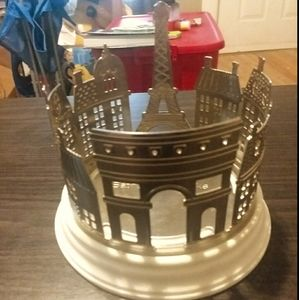 Bath And Body Works Paris themed candle holder